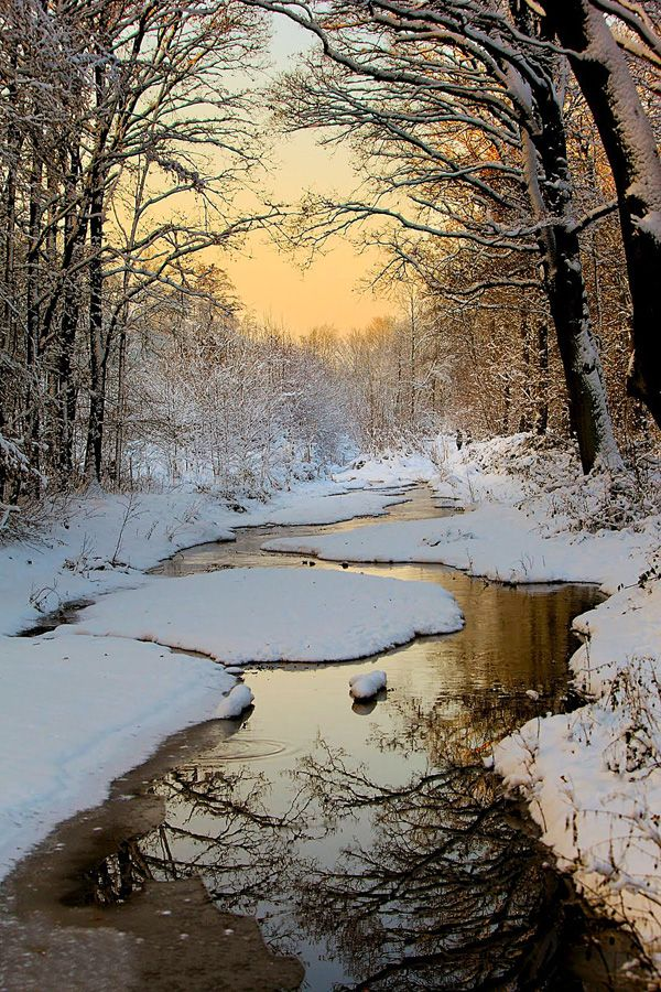 Winter - 65+ Awesome Winter Landscape Photos <3 <3