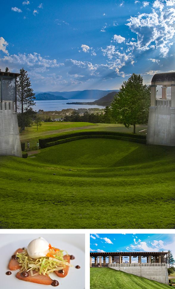 Mission Hill Winery,  #Luxury Boutique B & B in West #Kelowna overlooking the vineyards: www.lakeviewmemories.com