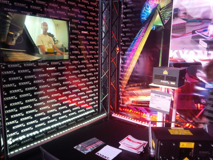 Our booth at LDI exhibition in Las Vegas!  www.kvantlasers.sk
