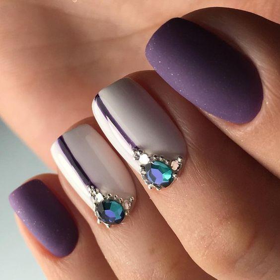 Nail Art Trend Luxury Nail Polish Nail Stickers Stock: 25+ Best Ideas About Metallic Nails On Pinterest