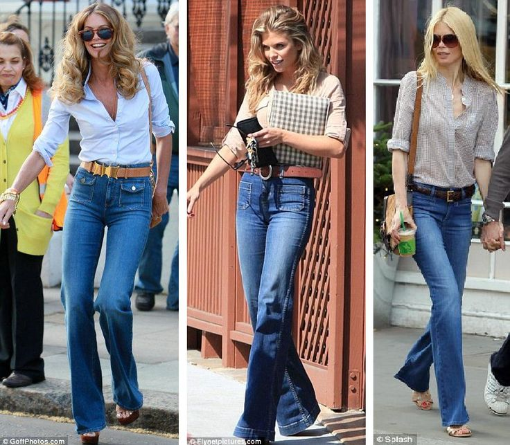 The Flare Jean Trend Street Style Fashion Trends Retro 70s Flare Pants Making A Comeback