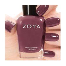 Zoya Nail Polish in Aubrey.  Great nail color for fall!