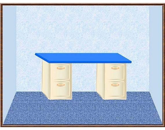 How to Make a File Cabinet Desk   eHow.com