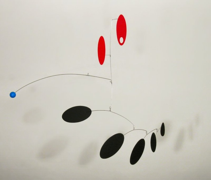 """""""Owsley"""" an Alexander Calder inspired mobile by Unigami"""