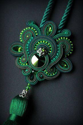 Handmade jewelry set earrings and by Mildossutazas on Etsy