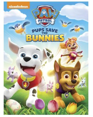 Just in time for spring, Ryder, Chase, Rocky, Skye and the rest of the gang are back with PAW Patrol: Pups Save the Bunnies.