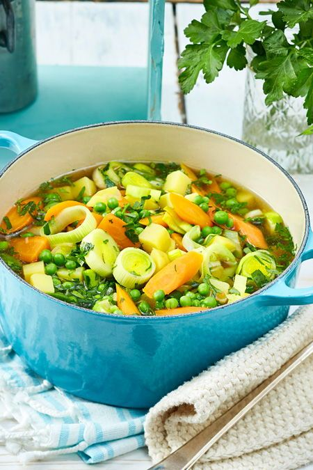 Menestra de verduras: esa es la receta básica   – Frühlingsrezepte