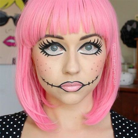 12+ Halloween Doll Makeup Styles, Looks, Trends & Ideas 2015 ...