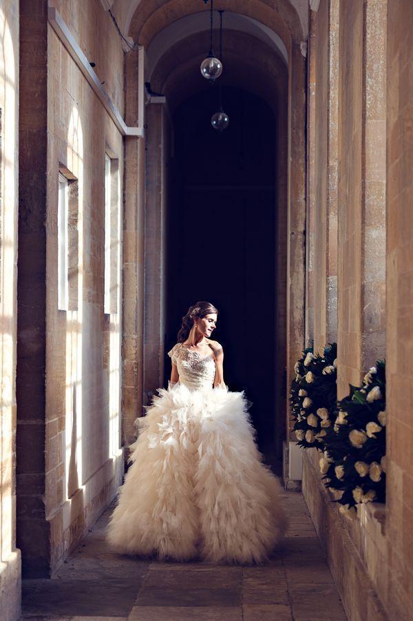 beach wedding south west uk%0A How beautiful does Miriam look in her Peter Lagner  wedding  dress  Very  Swan