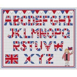 Union Jack alphabet