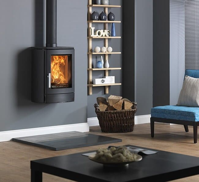 ACR NEO 1W DEFRA Approved Wall Mounted Multifuel Stove - Direct Stoves