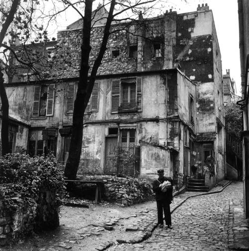 Willy Ronis - rue 20 juillet