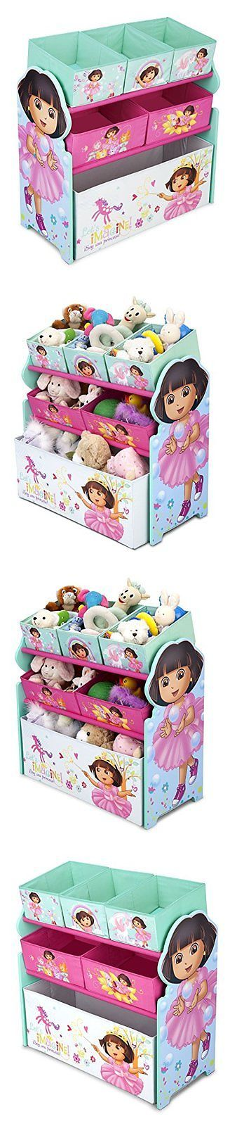 Toy Boxes 94932: Delta Children Multi-Bin Toy Organizer Nick Jr. Dora The Explorer -> BUY IT NOW ONLY: $37.58 on eBay!