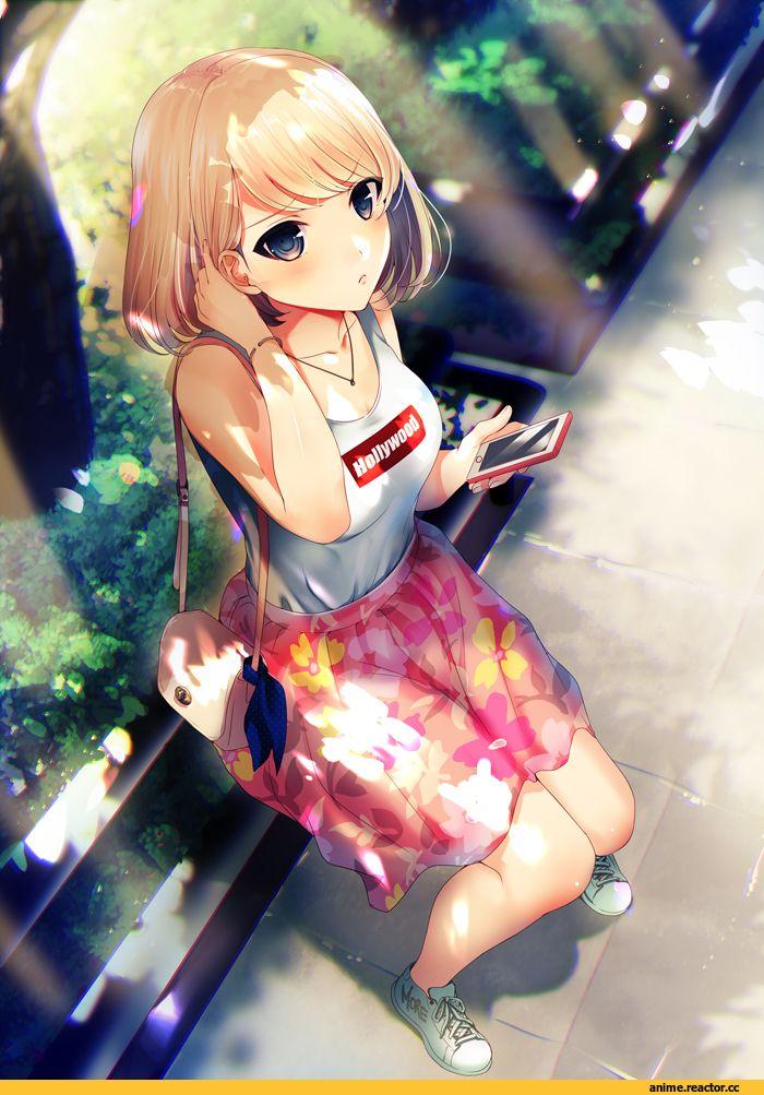 Anime,Аниме,minamihama yoriko,AO,Anime Art,Аниме арт, Аниме-арт