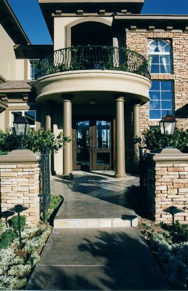 Perfect Front Home Designs Front House Door Front Gate Designs #FrontView