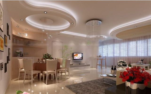 Modern Ceiling Design for Dining Room | Modern Ceiling Design for ...