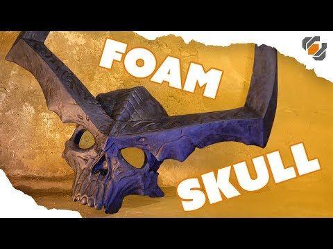 EVA Foam Skull - Surtur's Crown - Thor: Ragnarok - YouTube
