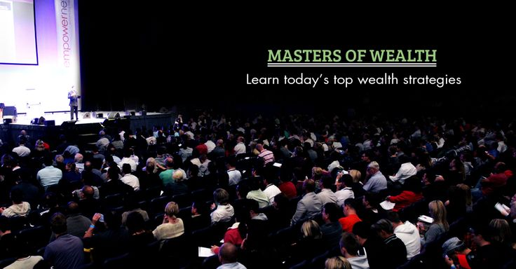 Step up from employee to entrepreneur at the Masters of Wealth event this March, featuring a panel of wealth experts. Find out more here: http://bit.ly/MOW_SM