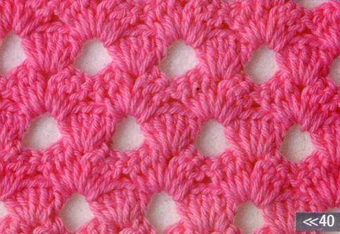 Patrón #1202: Punto Abierto a Crochet | CTejidas [Crochet y Dos Agujas]