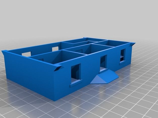 Dacre Station 1st floor by georgeswilson - Thingiverse