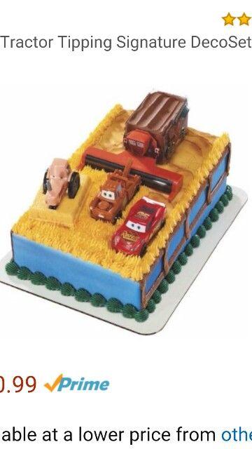 Frank the combine Birthday cake