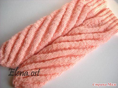 Вяжем носки по спирали (МК) - Страна Мам