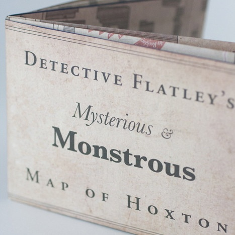 Detective Flatley's Mysterious Map of Hoxton