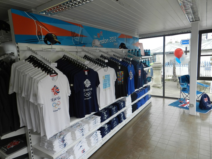 Official opening of the Weymouth London 2012 shop, some great mechandise and official memorabilia to help us all celebrate the Olympic Games being hosted in the UK and the sailing events in Weymouth.
