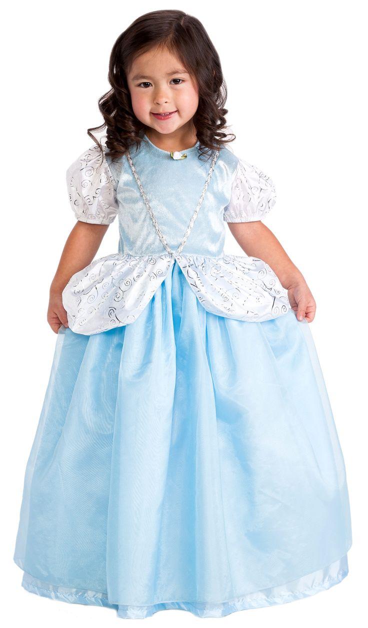 Dress up of cinderella - Deluxe Cinderella Dress Up Costume
