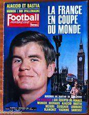Football Magazine n°71 du 12/1965; La France en coupe du monde