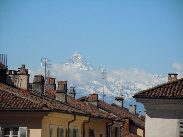 Moncalieri, Mountains, Torino , skyline ,