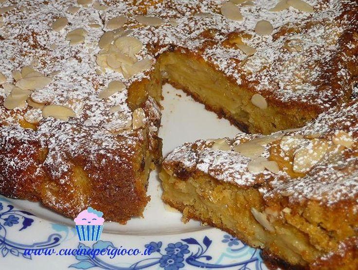 Torta di mele e noci - Cucina per Gioco
