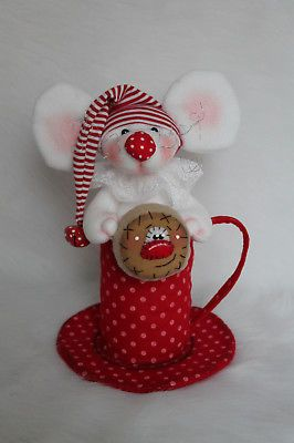 Weihnachts Maus Kekse Tilda Stoff,Filz Stoff....Landhaus