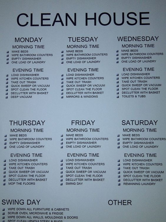 Best 25+ Cleaning schedule templates ideas on Pinterest Weekly - cleaning schedule template