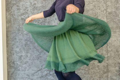 Юбки ручной работы. Воздушная тёплая юбка из мохера. LAMA MIA丨Вязание на заказ. Интернет-магазин Ярмарка Мастеров. Однотонный