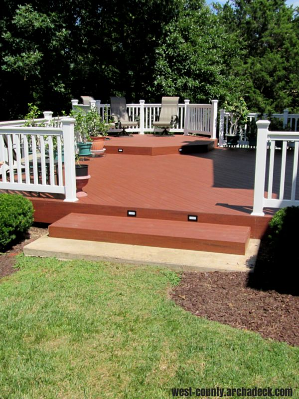 138 best images about composite low maintenance deck for Best decking material to use