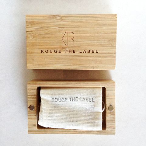 Locally sourced and made Bamboo Jewellery box - ROUGE THE LABEL