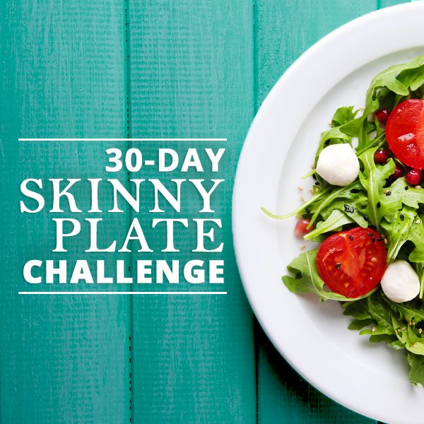 Skinny Plate Challenge - Join the Skinny Plate Club