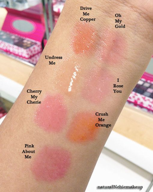 Ysl Tint In Oil Lip Swatches Ysl Lip Lip Swatches