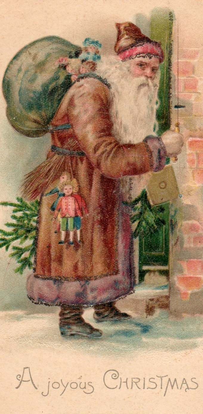 Old world Santa