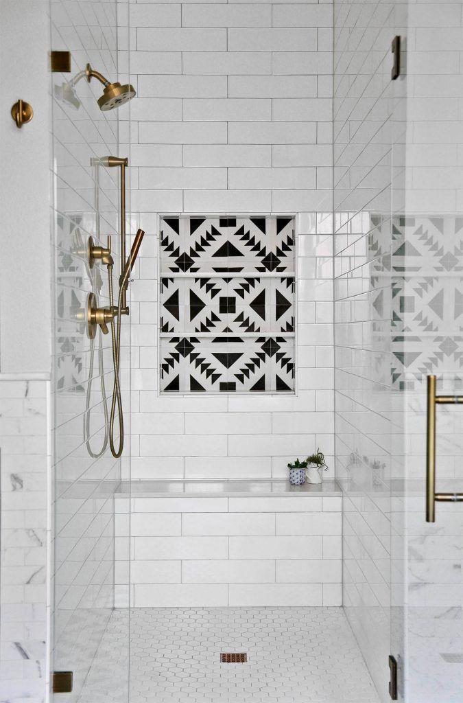 44 Modern Shower Tile Ideas And Designs 2021 Edition Modern Shower Tile Shower Tile Bathroom Shower Tile Classic bathroom tile design 2021