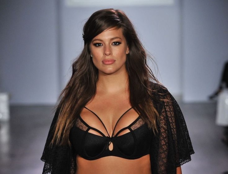 Ashley Graham wears her collection and makes her debut at NYFW Fall 2015