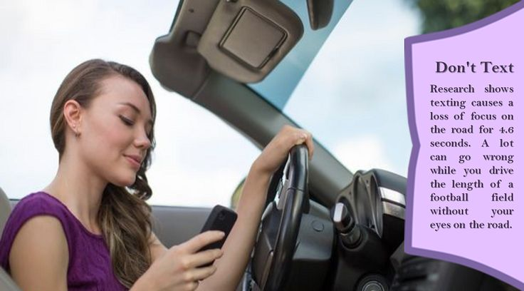 Never use a cell phone while driving If you are chatting on a cell phone or sending and receiving text messages, you will not be giving your driving your full attention, and you will not be aware of what is going on with other drivers around you. #summertyres