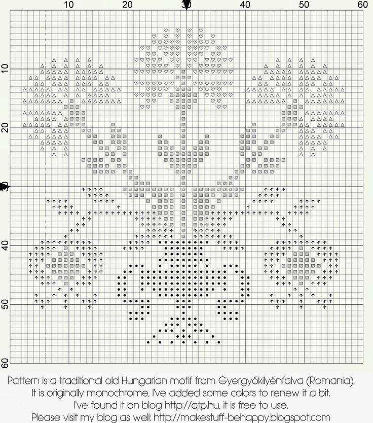 I've stitched it to present a dear person. I've found this pattern on QTP , it is a traditional Hungarian motif from Gyergyókilyénfalva, I ...