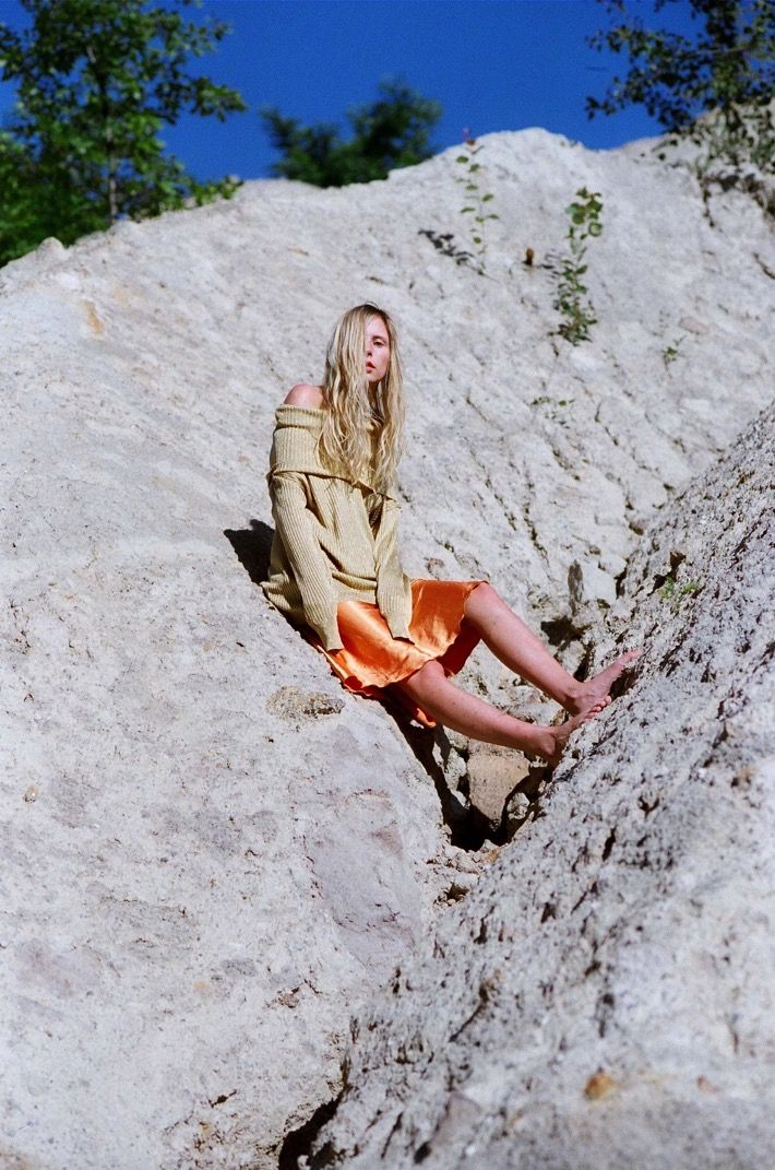 NATURE GIRL --- Loaction: Laguna Albastra, Transilvania --- photography: Andreea Bogdan --- model: Marie My --- Styling & Art direction: Andreea Bogdan & Marie My