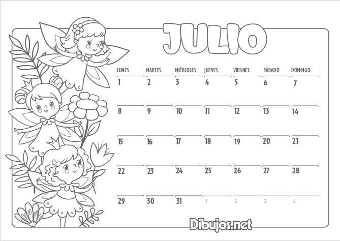 Calendario Infantil 2019 Para Imprimir Y Colorear Dibujos Net Calendario Infantil Calendario Imprimir Sobres