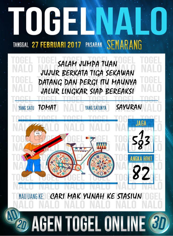 Lotre Taysen 4D Togel Wap Online Live Draw 4D TogelNalo Semarang 27 Februari 2017
