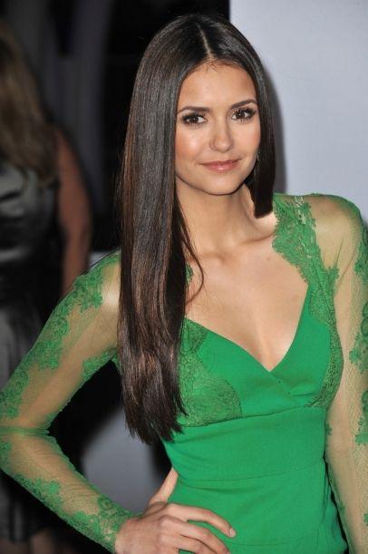 Nina Dobrev #hair #beauty #celebrity