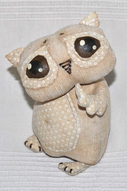 by Olga Russkikh: Owl Misc, Crafty Owl, Stuffed Stuff, Owls Misc, Stuffed Birds, Art Dolls