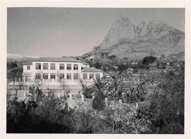 C.P. Ricardo Mayor, Antiguo colegio de Finestrat - Finestrat en el recuerdo